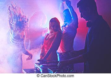 clubbing, nacht