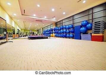 clube, condicão física