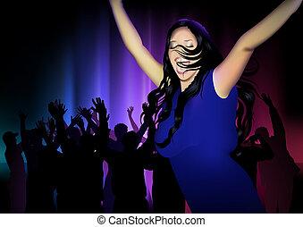 clube dança