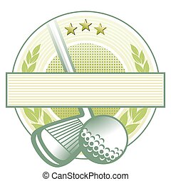 clube, golfe, emblema