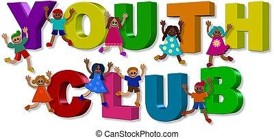 clube juventude, crianças
