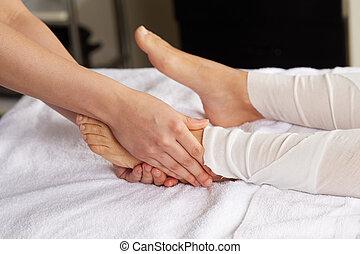 clube, pé, tailandês, massagem, spa