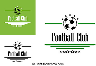 clube, símbolo, futebol, ou, futebol
