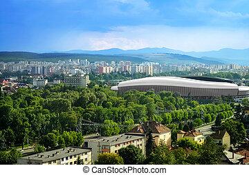 Cluj Arena in Cluj Napoca, Romania