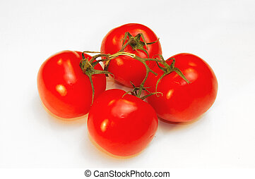 Cluster Tomatoes. - Cluster tomatoes, home grown vegetables....