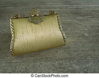 clutch, /, håndtaske