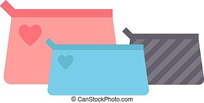 Clutch handbag vector illustration. - Female clutch handbag...