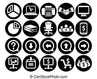 CMS Content Management System Web design Icons