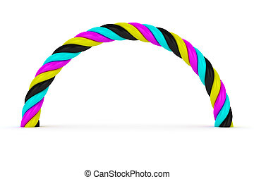 CMYK arch