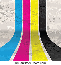 CMYK grunge background