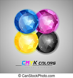 CMYK Jewels