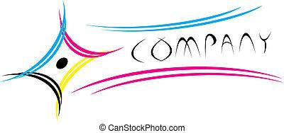 cmyk, logotipo