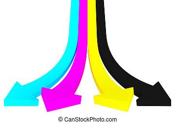 CMYK palette