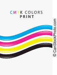 cmyk print color