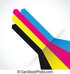 cmyk print lines