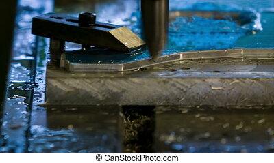 CNC Aluminium Milling Champher remove