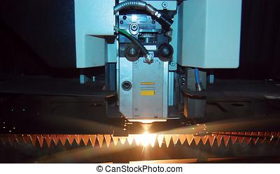 cnc, laser industriel, coupeur