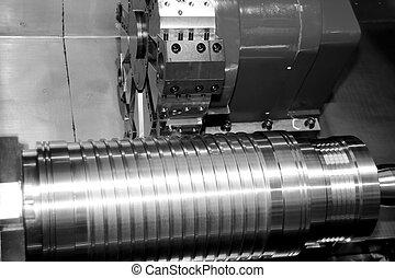 cnc, máquina herramienta