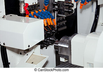 CNC machine for metal processing - Milling machining centers...