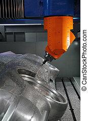 cnc machine tool  - cnc machine tools in the work