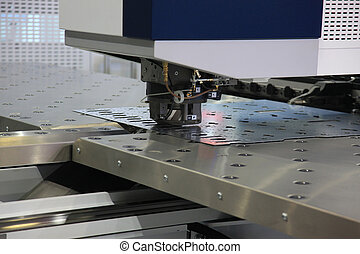 CNC punching machine - High precision CNC sheet metal ...