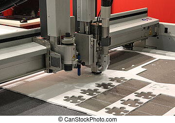 CNC punching machine - High precision CNC sheet plastic...