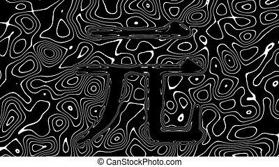 CNY Chinese Yuan sign made of abstract liquid blobs ...