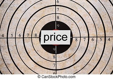 coût, cible