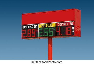 coût, essence