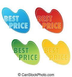 coût, mieux, étiquettes