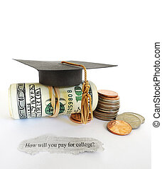coûts, collège, question