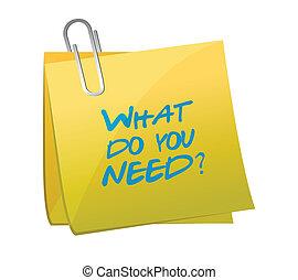 co, ilustracja, projektować, potrzeba, poczta, ty