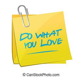 co, miłość, ilustracja, projektować, poczta, ty