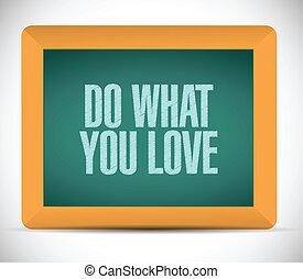 co, miłość, ilustracja, projektować, wiadomość, ty