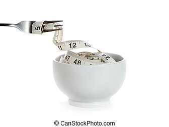 co, prześladowany, (dieting, pojęcie, kalorie, ty, jeść