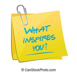 co, pytanie, ilustracja, projektować, ty, inspires