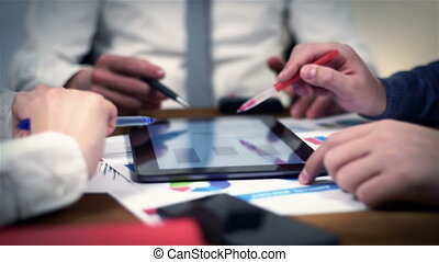 Co Workers Browsing Start Up Concept - Business...