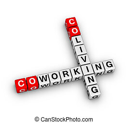 Co-working and co-living crossword puzzle
