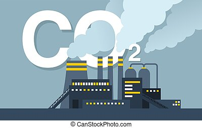 CO2 emissions - air carbon contamination - CO2 emissions ...