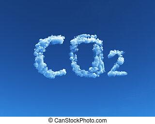 co2, nublado