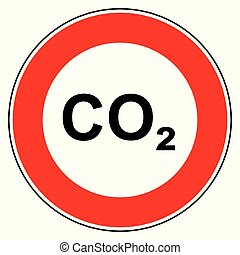 co2, prohibition, signe