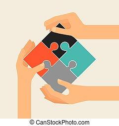 colaborative people design, vector illustration eps10 graphic