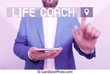 coach., hegyezés, azonosít, jelentés, szöveg, öl, fogalom, ...