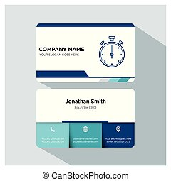 coach, player, trainer business card template