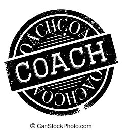 Coach rubber stamp