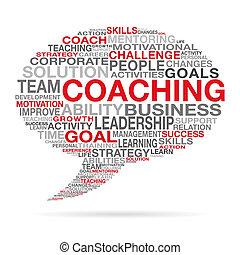 Coaching Business Succes Cloud Concept
