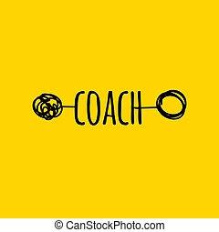 metaphor of coach