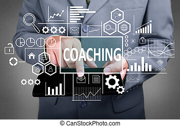 Coaching in Business Concept