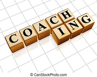coaching in golden cubes