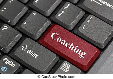 Coaching on keyboard